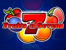 Игровой автомат Fruits And Sevens – виртуальная онлайн-игра о фруктах